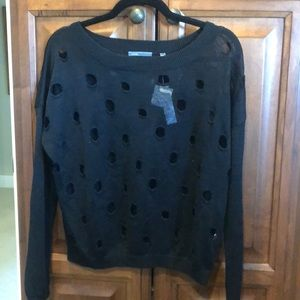 Women's Vince black sweater brand new with tags.